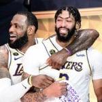 NBA – La drôle de scène entre LeBron et Davis qui fait le buzz