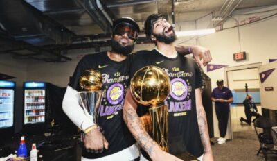 NBA – La décla polémique de Davis sur LeBron et la course au MVP