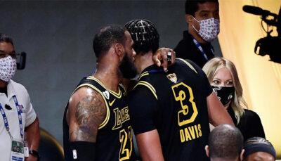 NBA – Anthony Davis révèle ses plans de l'été avec LeBron