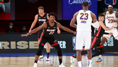 NBA – Jimmy Butler en course pour rejoindre les seuls LeBron et Jordan !