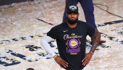 NBA – Les bookmakers donnent leurs favoris pour le MVP, LeBron seulement 4eme