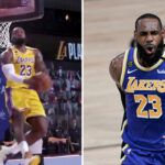 NBA – LeBron plante un reverse dunk monstrueux… qui ne compte pas