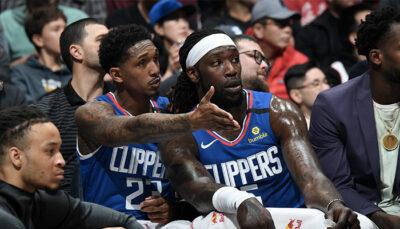 NBA – Lou Williams réagit à la trahison de Montrezl Harrell, parti aux Lakers