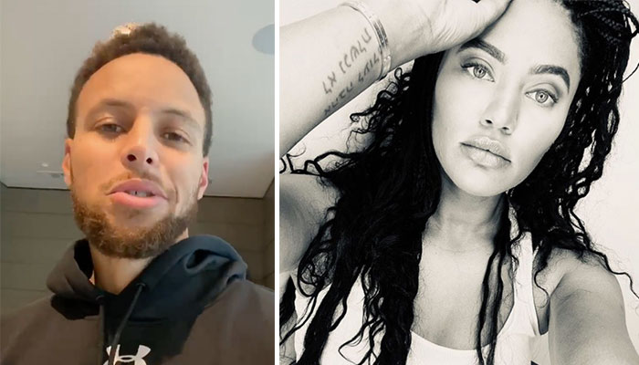 Stephen Curry Ayesha Curry look