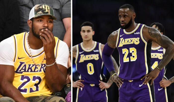 Yasiel Puig et les Lakers