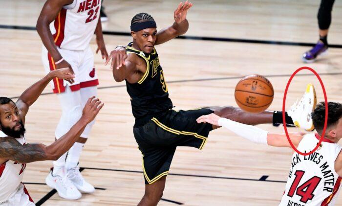 Rajon Rondo et ses sneakers hommage à Kobe
