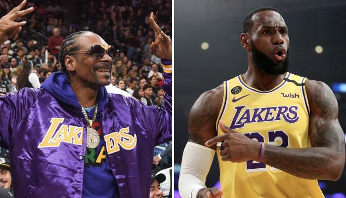 NBA - La 3ème star que Snoop Doog veut voir chez ses Lakers