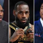 NBA – Stephen A. Smith dégomme Thomas après qu'il ait déclaré LeBron le GOAT