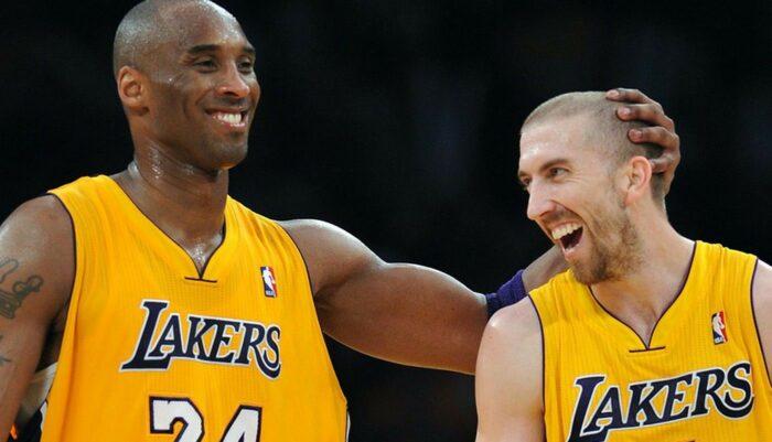 Kobe Bryant et Steve Blake