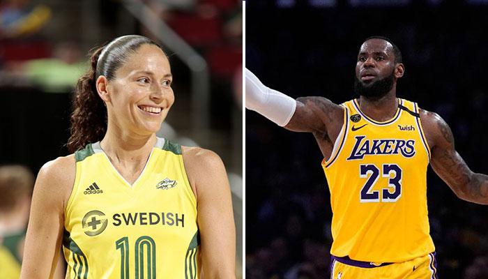 Sue Bird tape un gros record en WNBA... et fait réagir LeBron James !