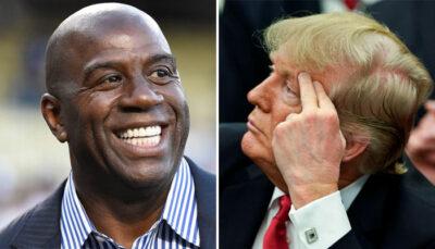 NBA – Surexcité, Magic se lâche après l'élection de Joe Biden !