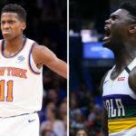 NBA – L'hallucinante stat que se partagent Zion Williamson et Frank Ntilikina
