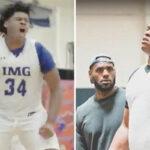 NBA – Affûté, le mastodonte Big Jah, protégé de LeBron, fait le buzz