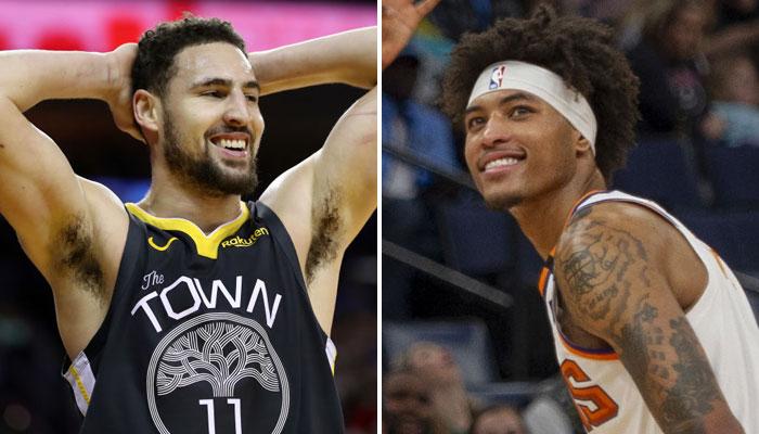 Klay Thompson et Kelly Oubre se sont déjà battus en NBA, ils vont maintenant être coéquipiers chez les Warriors