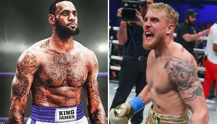 LeBron James montera-t-il un jour dans le ring avec Jake Paul ?