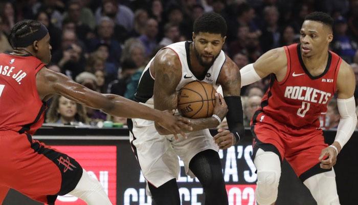 Paul George et Russell Westbrook ont été évoqués dans un échange entre Clippers et Rockets