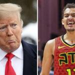 NBA – La vidéo virale NSFW de Trae Young après la défaite de Trump