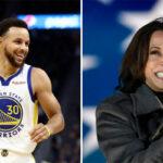 NBA – Le cadeau de Curry à Kamala Harris, nouvelle vice-présidente !