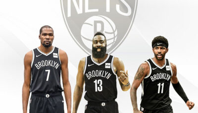 NBA – Une légende valide le potentiel Big 3 dingue des Nets
