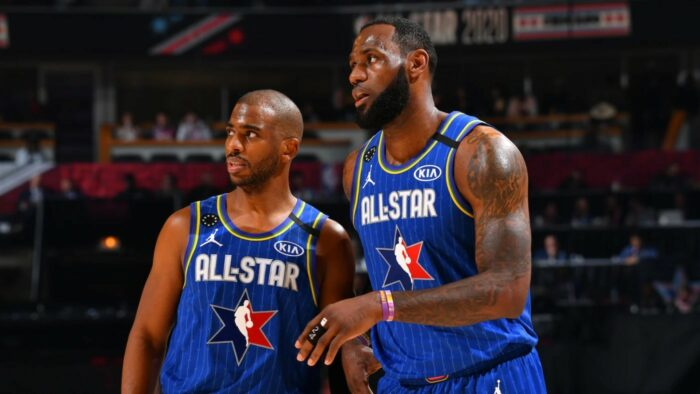 Chris Paul et LeBron James