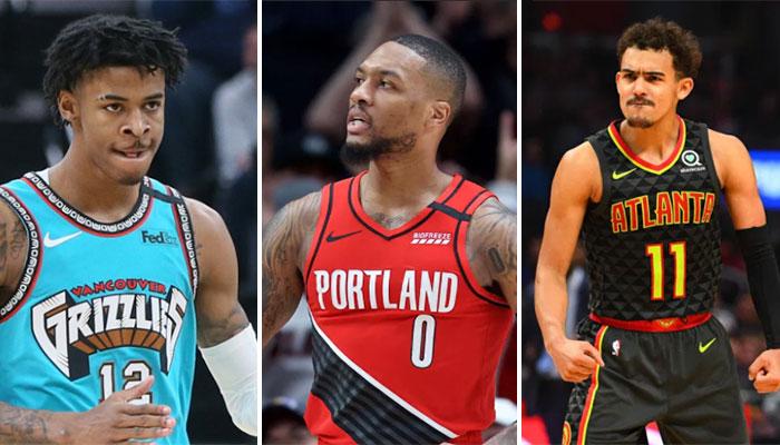 Lillard, Young et Morant réagissent à la date de la reprise ! NBA
