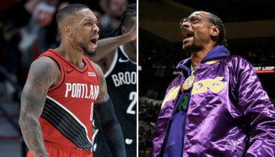 NBA – Damian Lillard à deux doigts de péter un câble comme Snoop