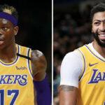 NBA – La réaction géniale d'Anthony Davis à l'arrivée de Schröder