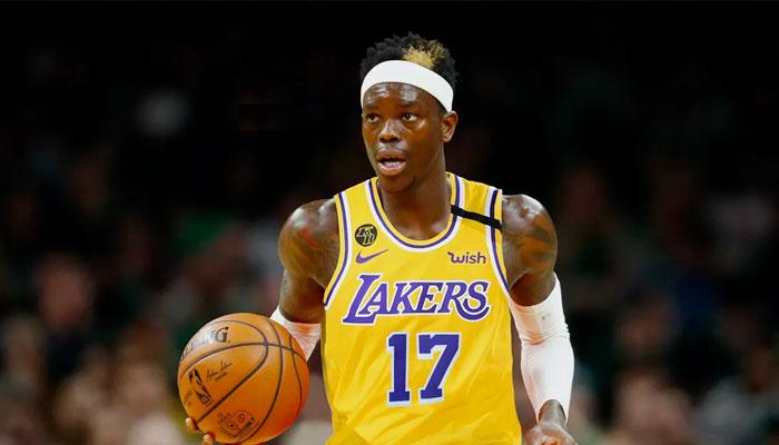 Dennis Schroder sous les couleurs des Lakers NBA