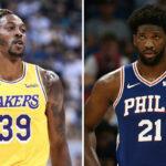 NBA – Dwight Howard recadre gentiment Joel Embiid, son nouveau coéquipier