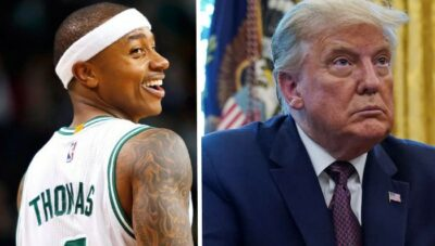 NBA – La punchline basket géniale d'Isaiah Thomas sur Donald Trump