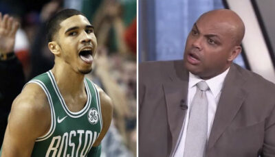 NBA – Jayson Tatum provoque Barkley, Chuck le trash-talke en direct !