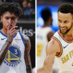 NBA – Steph Curry réagit à l'arrivée de Kelly Oubre pour remplacer Klay