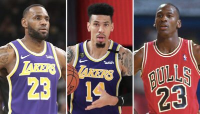 NBA – L'argument parfait de Danny Green pour clore le débat du GOAT