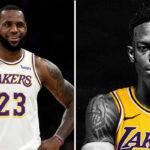 NBA – LeBron James réagit cash à l'arrivée de Dennis Schröder