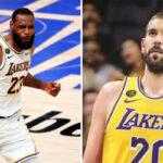 NBA – Marc Gasol répond au tacle de LeBron contre lui