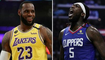 NBA – Le tacle subtil de LeBron aux Clippers en évoquant Harrell