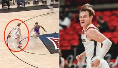 NCAA/NBA – Mac McClung régale et brise des chevilles pour sa première !