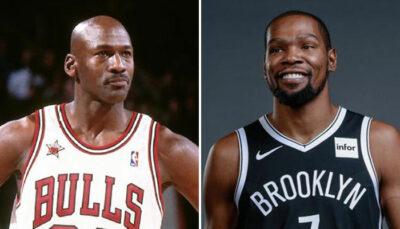 NBA – Kevin Durant adoube furieusement Michael Jordan