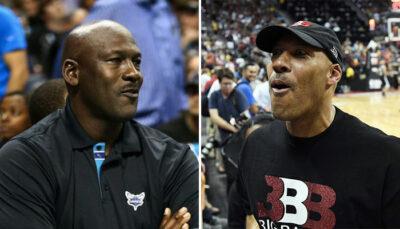 NBA – Le coup de pression de LaVar Ball à Michael Jordan
