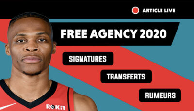 NBA free agency 2020, trades et transferts, free agents