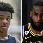 NBA – Bronny salement recadré hors caméras par LeBron James ?