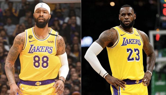 LeBron James Markieff Morris Lakers