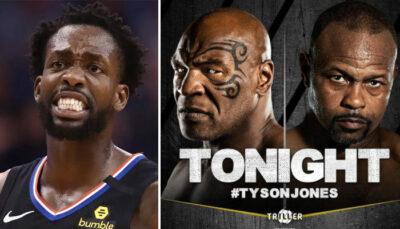 NBA – A bloc, Pat Beverley trash-talke devant les combats de Nate Robinson et Myke Tyson