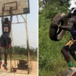 Hors NBA – L'entraînement inhumain de Nkwain, le Camerounais acharné !