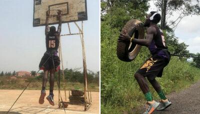 Divers – L'entraînement inhumain de Nkwain, le Camerounais acharné !