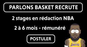 Stage journalisme Parlons Basket