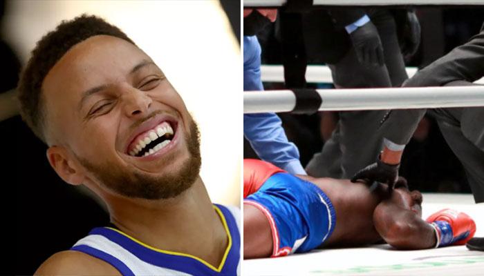 Le violent troll de Steph Curry à Nate Robinson après son KO NBA