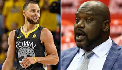 NBA – Shaq a perdu 100.000$ cette nuit à cause de Steph Curry !