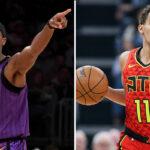 NBA – Trae Young réagit à l'arrivée de Rajon Rondo à Atlanta