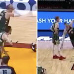 NBA – Brook Lopez pète un câble en plein match et se moque des flops de Bam Adebayo